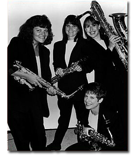 Photo of the Hurricane Saxophone Quartet